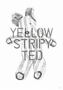 Yellow Stripy Ted